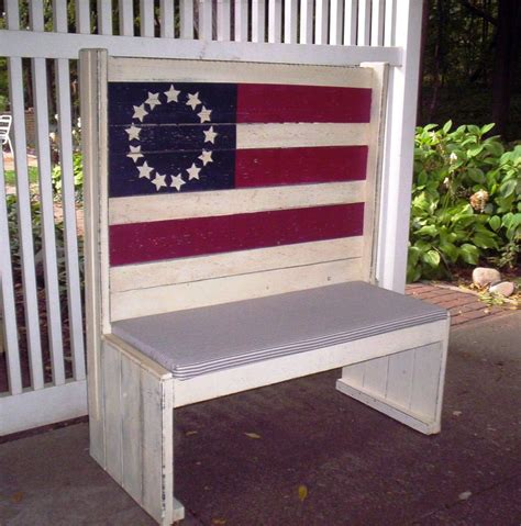 americana bench 1000 images about flag bench on pinterest trust god fingerprints and american flag
