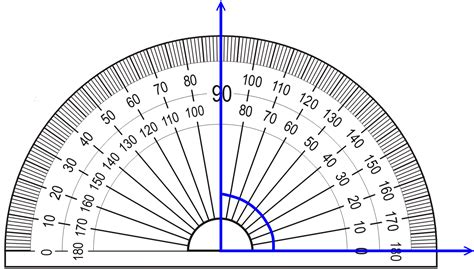 printable 90 degree protractor measuring angles with a protractor lesson video