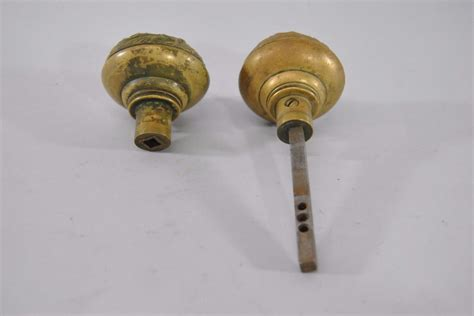 art nouveau knobs antique art nouveau brass door knob handle florence