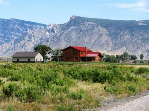 wyoming house log home for sale in cody wyoming cody wyoming home for