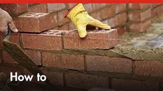 how to build a brick wall diy at bunnings doovi