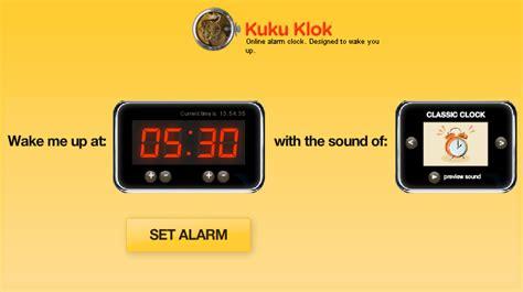 alarm clock websites