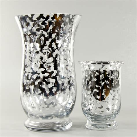Wholesale Vases by 6 Quot And 10 Quot Inch Siver Mercury Glass Garden Vase Wholesale