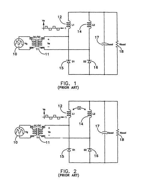 coupled inductor current doubler patent us7880577 current doubler rectifier with current ripple cancellation patents