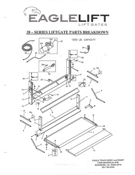 eagle lift wiring diagram collection of tommy liftgate wiring diagram sle