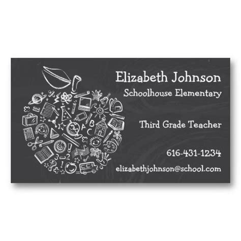 business cards for teachers templates free best 25 business cards ideas on cheap