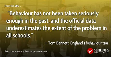 News The Not Taken by Poor Behaviour Not Taken Seriously Enough In Schools