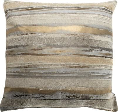 gold and silver pillows gold and silver metallic striped cowhide pillow