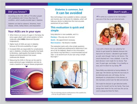 Diabetes Brochure Templates Free 14 Diabetes Brochure Templates Sle Templates