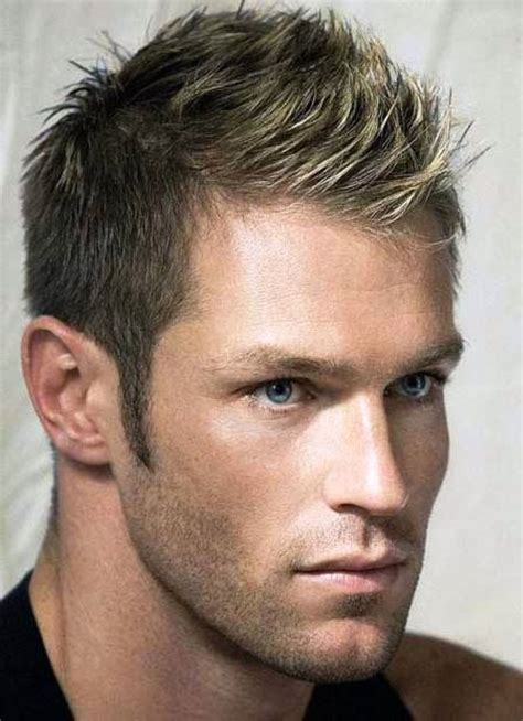a short blonde hairstyle from the 2015 mens collection 17 best images about boyz hair on pinterest men haircut