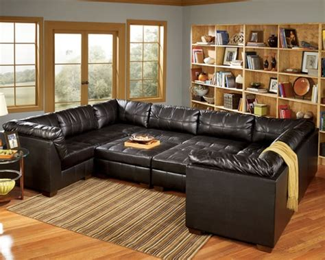 Oversized Sleeper Sofa Leather Modular Sofa Leather Loveseat Oversized Sectional