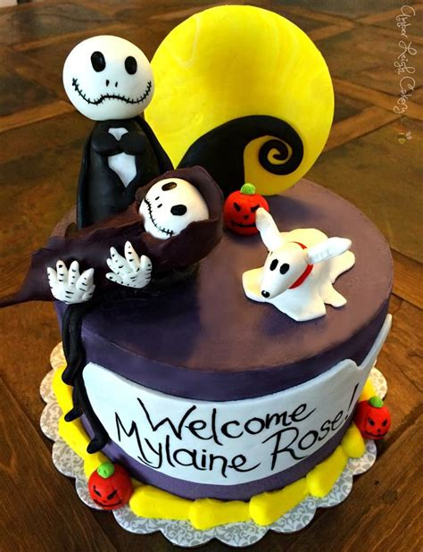 nightmare before christmas baby shower cake amber leigh