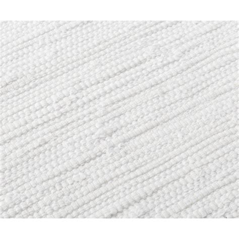 Cotton Rug White Rug Solid Cotton Rugs