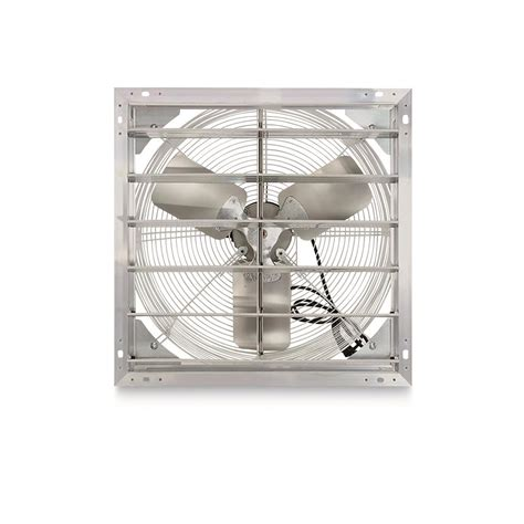 exhaust fan with shutter hessaire 20 quot shutter exhaust fan 681335 air