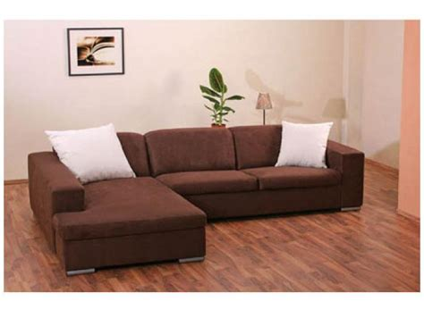 canape d angle marron photos canap 233 d angle tissu marron