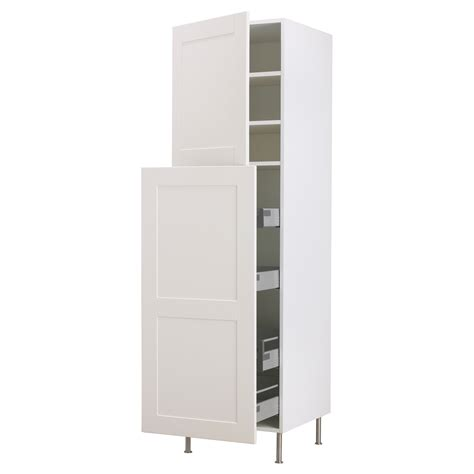 Furniture Awesome Tall White Kitchen Pantry Cabinet With Kitchen Pantry Cabinet White