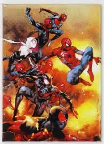 spiderman fridge magnet marvel comics  avengers