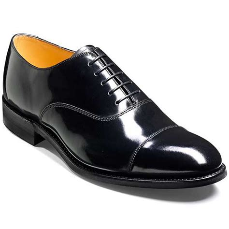 barker oxford shoes barker shoes cheltenham black hi shine oxford style