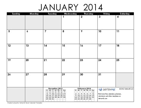 Calendar January 2014 Best Photos Of January 2014 Calendar January 2014