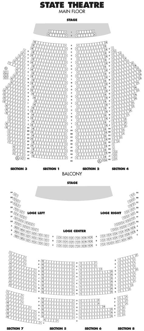 state theater mn seating chart historic state theatre hennepin avenue minneapolis