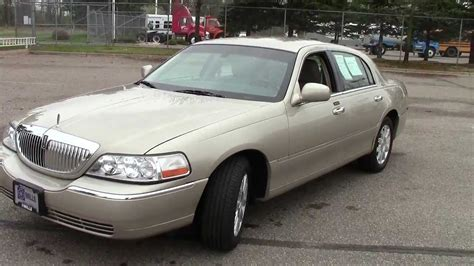 how cars work for dummies 2011 lincoln town car user handbook 2011 lincoln town car signature limited youtube