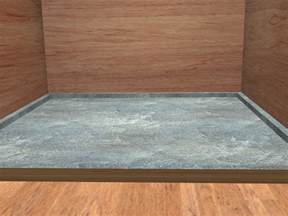 how to build floor how to make a shower pan 15 steps with pictures wikihow