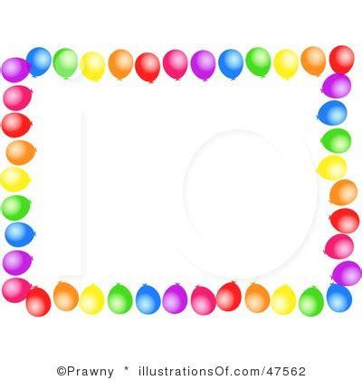 balloon border clip art many interesting cliparts
