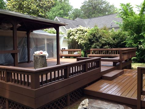 how to design a deck for the backyard good paint for outdoor deck with wood bench ideas nytexas