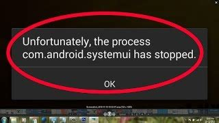 unfortunately the process android process acore has stopped solucionar el problema android systemui se ha detenido jinni