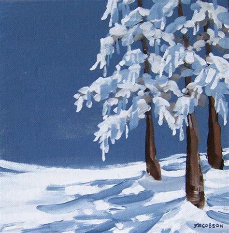 acrylic painting holidays uk simple winter landscape paintings painted window