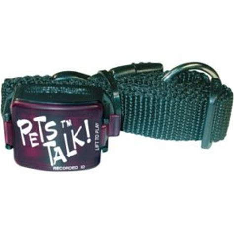 talking collar pets talk talking collar for large dogs pet supplies