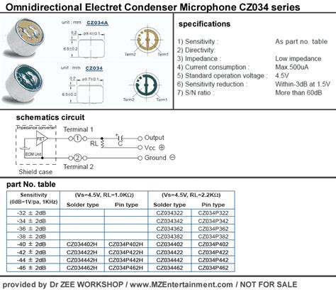wiring diagram for condenser microphone get free image