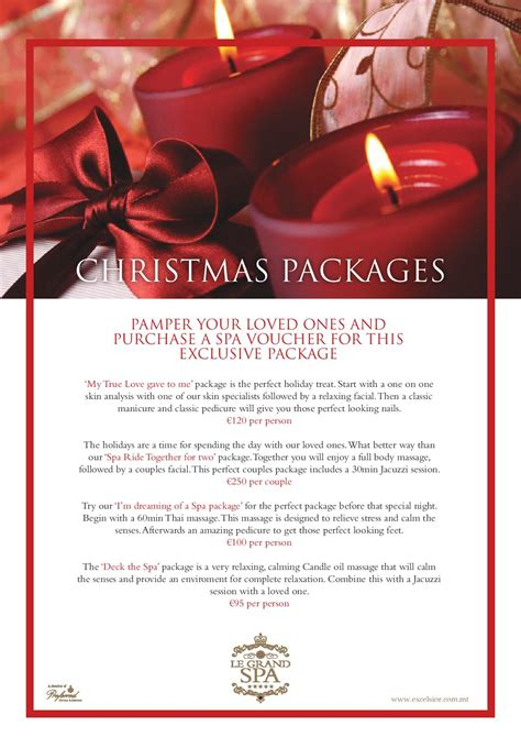 images of christmas packages le grand spa malta excelsior hotel malta