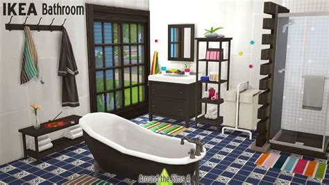 Around the Sims 4   Custom Content Download   IKEA Bathroom