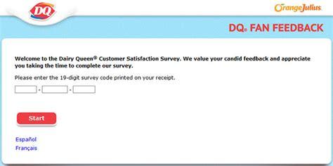 dq fan feedback survey guest satisfaction surveys guestsatisfactionsurveys com