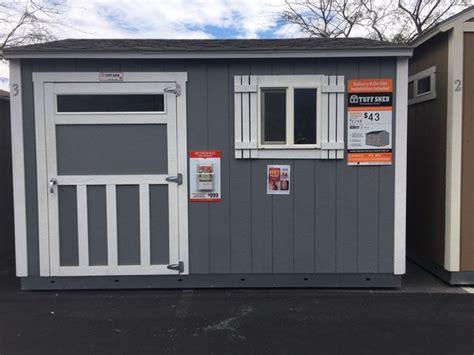 tuff shed home depot financing   sale