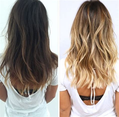 light brown to blonde tranformations sghaircolor fall transformation beauty pinterest