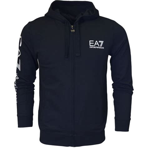 Hoodie Sweater Dc 3 ea7 by emporio armani 274425 graphic zip black hoodie ea7 by emporio armani from n22