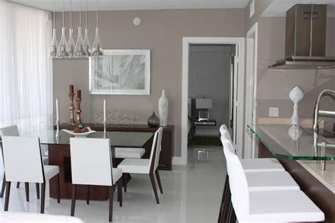 Requisite Gray Dining Room Icon Brickell Condo