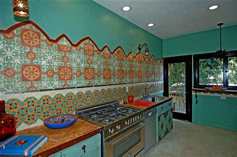 Moroccan Tile Kitchen60 Moroccan Tiles Los Angeles Moroccan Kitchen Design