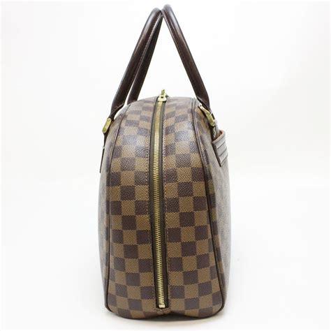 Kaos Louis Vuitton Lv louis vuitton brown damier canvas leather nolita satchel tradesy