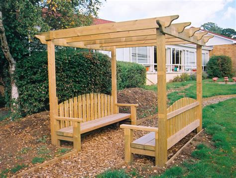 pergola bench pergola bench playground seating