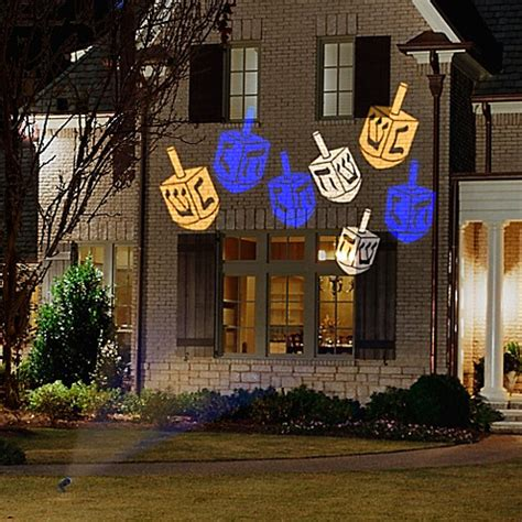 projection christmas lights bed bath and beyond gemmy 169 lightshow whirl a motion dreidel projection light