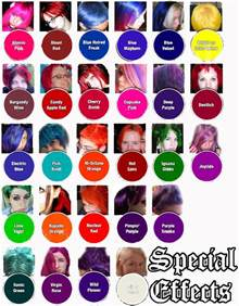 special effects hair color special effects semi permanent hair dye