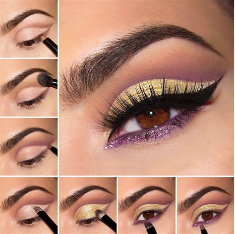 tutorial applying eyeliner eye makeup application step by step mugeek vidalondon