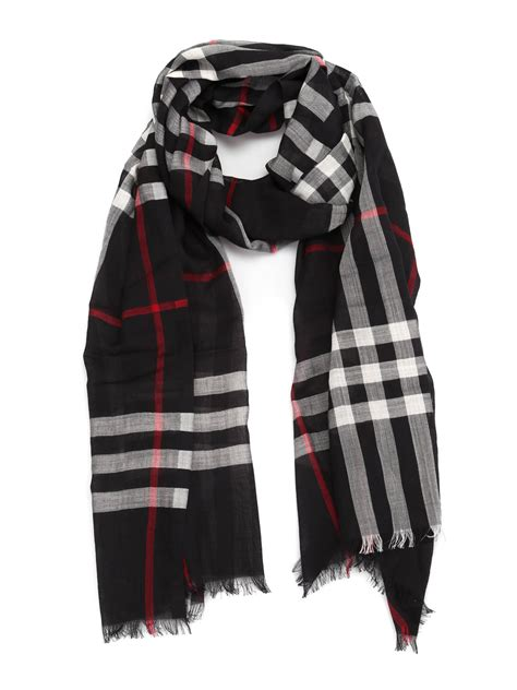 wool and silk light scarf by burberry scarves ikrix