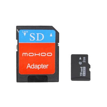 Memory Card Xiaomi mohoo 2 in 1 2gb micro sd tf sdhc flash memory card adapter for xiaomi umi sale banggood