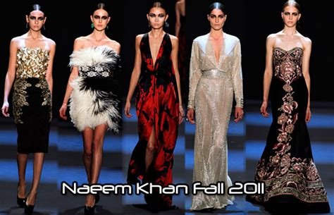 Catwalk To Carpet Naeem Khan Carpet Style Awards 2 by Naeem Khan Fall 2011 Carpet Fashion Awards