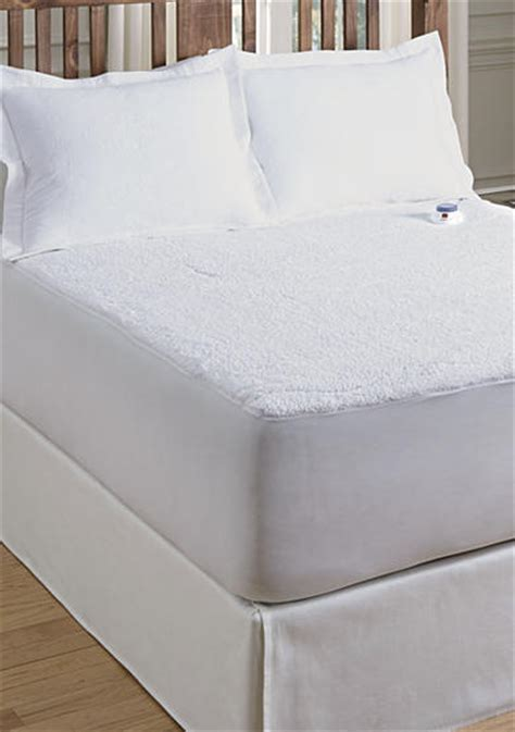 serta 174 heated sherpa mattress pad belk