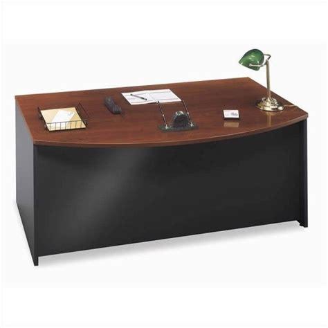 bush bow front desk bush business series c 3 piece bow front desk set in